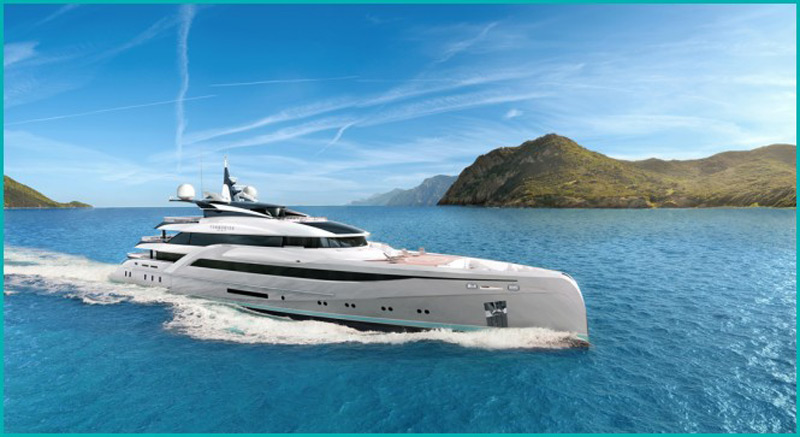Turquoise Yachts Unveils New 66m Superyacht