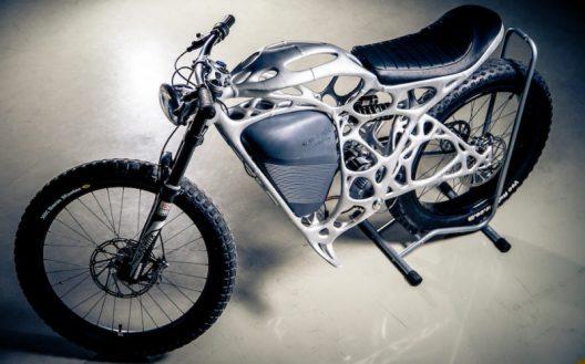 APWorks 3D-Printed Motorcycle