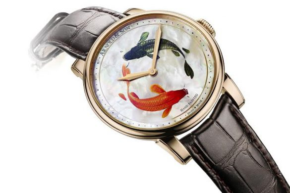 Arnold & Son Métiers d'Art HM Koi Unique Piece