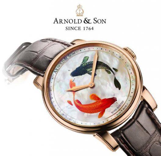 Arnold & Son Métiers d'Art HM Koi Unique Piece