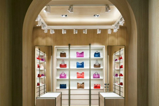 Bottega Veneta Shop on Rodeo Drive in Beverly Hills Boulevard