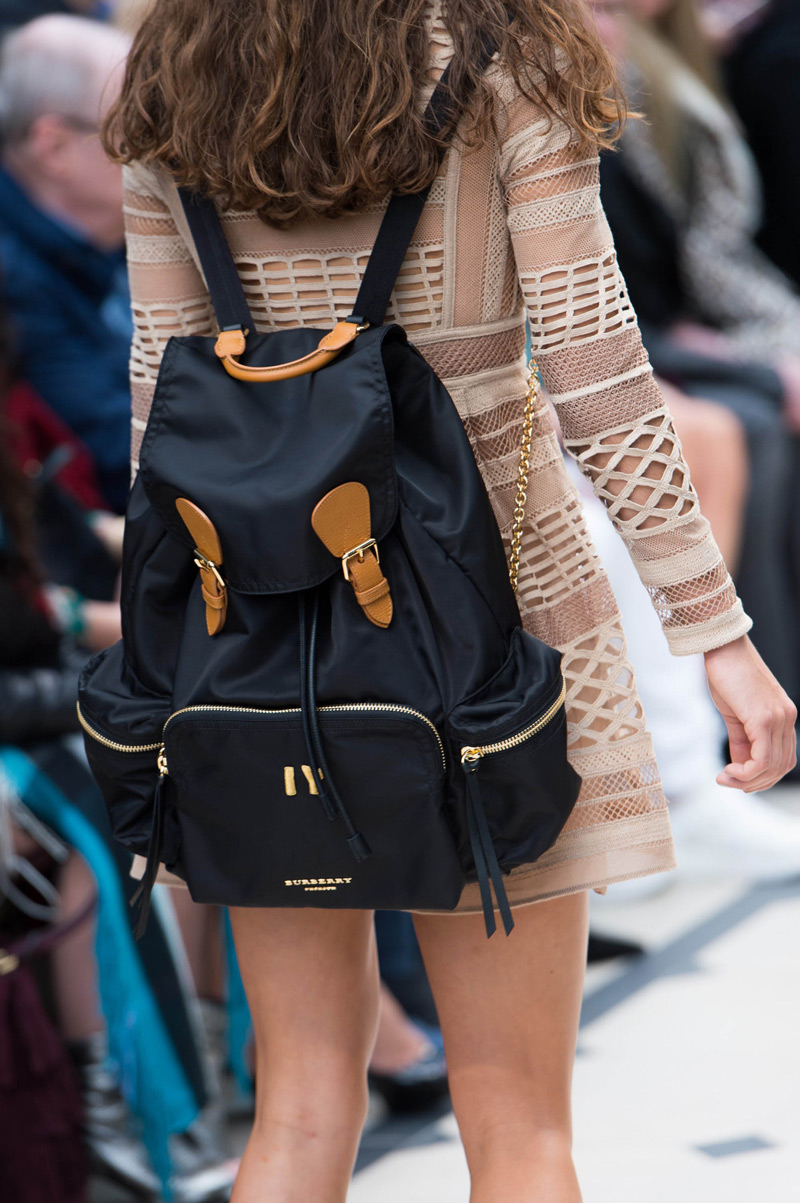 e694d71a5b85 Burberry s Large Rucksack in Technical Nylon and Leather - eXtravaganzi