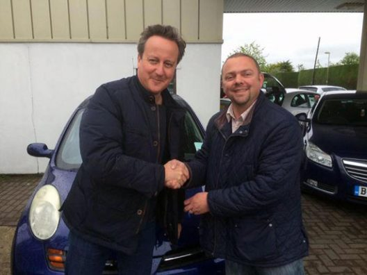 British Prime Minister Purchased Used Nissan Micra
