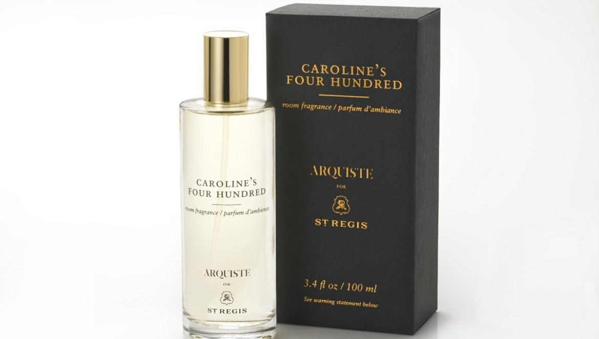 Caroline's Four Hundred Room Spray At St. Regis Hotels & Resorts' Rooms