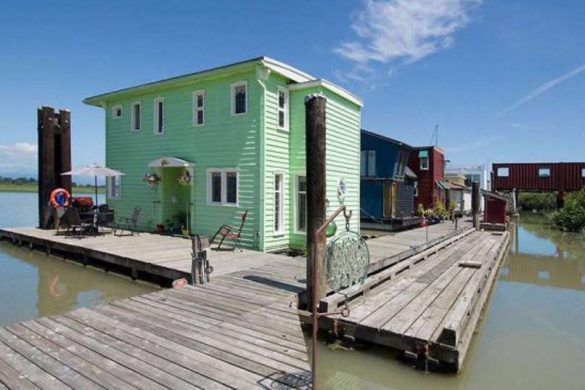 You Can Buy Sweet Rustic Float House