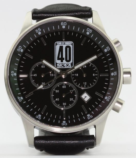Perfect Chronograph for the 40th Anniversary of the VW Golf GTI