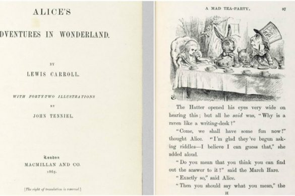 First Edition of Alice in Wonderland Could Fetch $2,9 Million At Auction