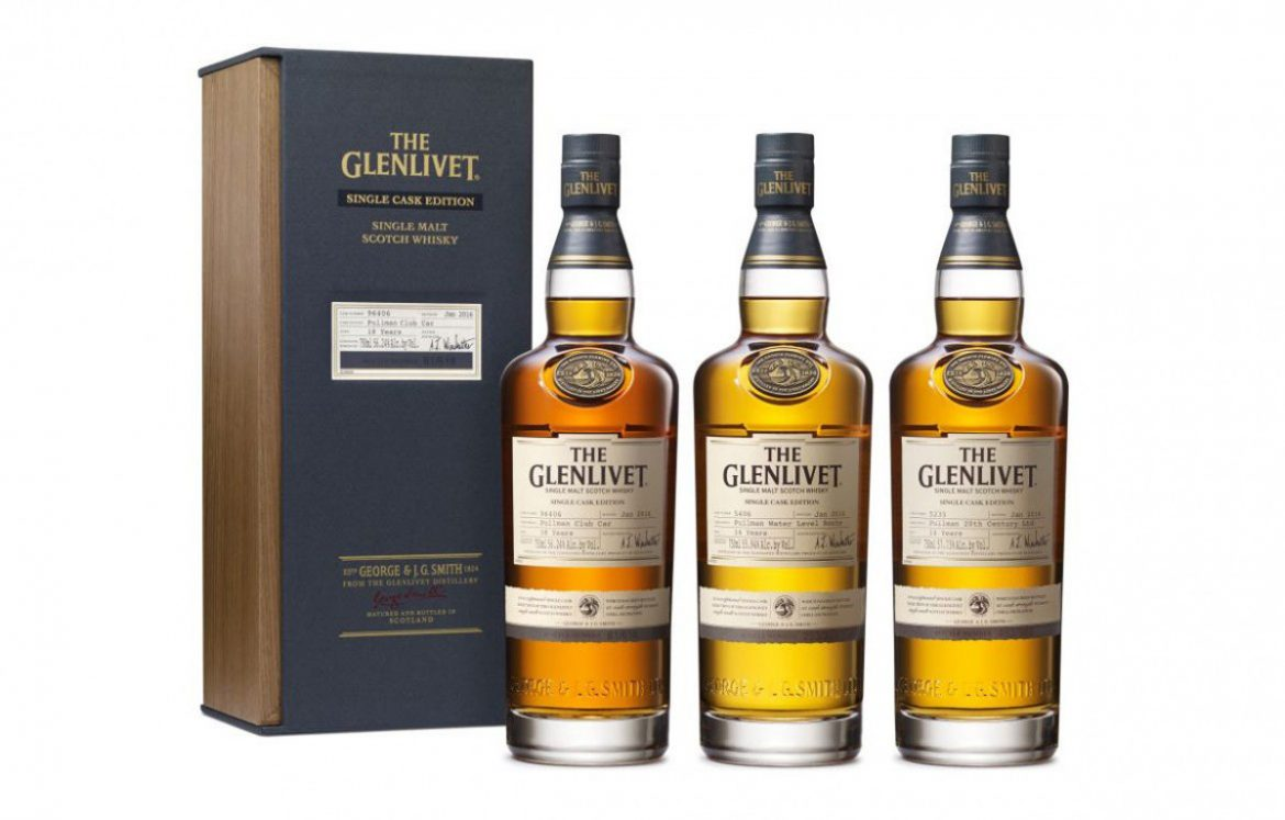 Glenlivet Single Cask Edition Pullman Train Collection