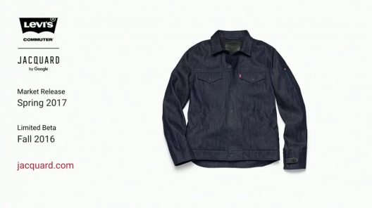 Google And Levi's First Smart Jacket
