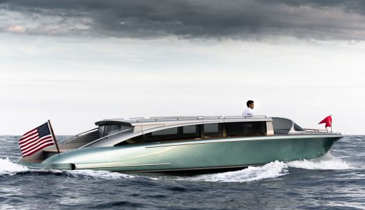 Hodgdon Yachts Celebrates 200th Anniversary With The Most Exclusive Custom Limousine Tender Ever