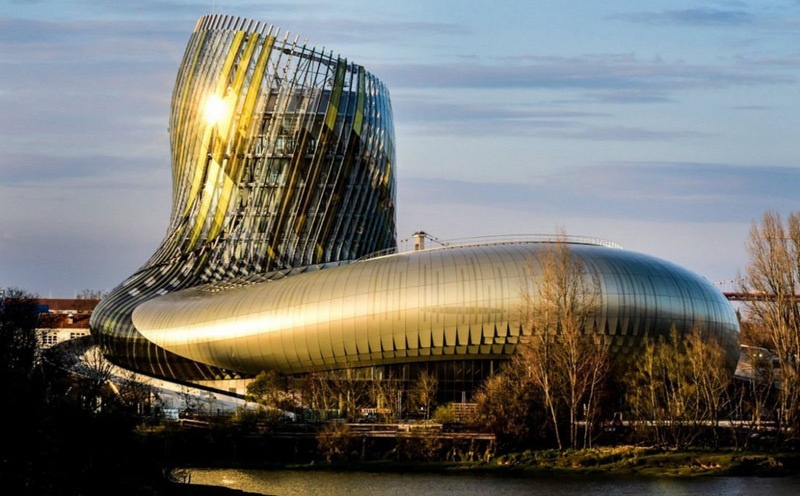 La Cité du Vin - Wine-Theme Park in Bordeaux