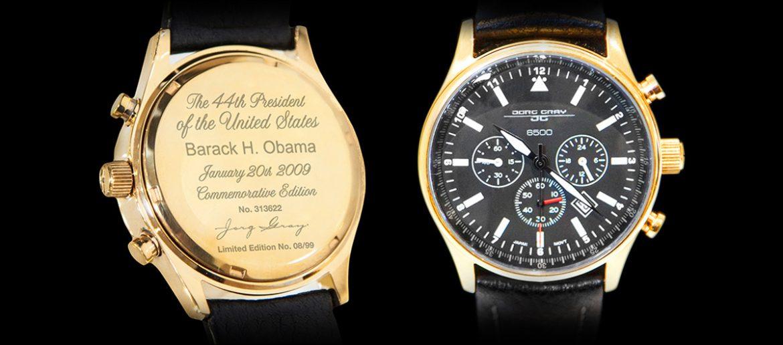 President Obama Gold Watch