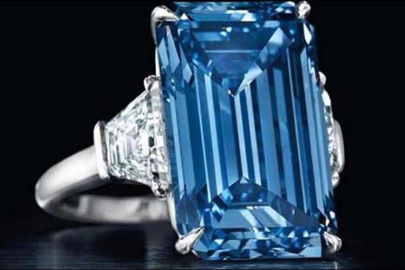 'Oppenheimer Blue' Diamond Sold For Record $57.5 Million