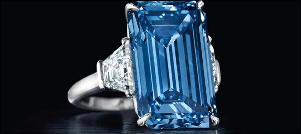 'Oppenheimer Blue' Diamond Sold For Record $57.5 Million