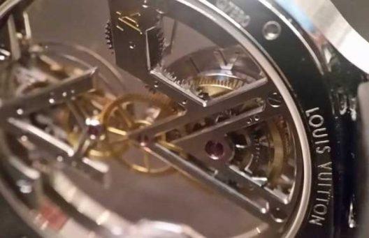 Louis Vuitton's First Poinçon de Genève Watch
