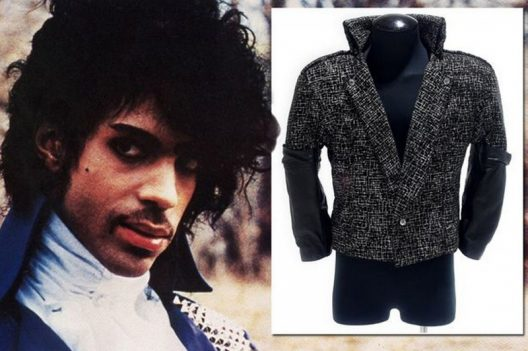 Prince's Purple Rain Jacket Goes Under The Hammer