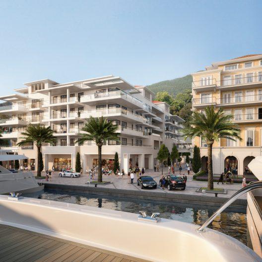 Porto Montenegro Regent Pool Club Residences