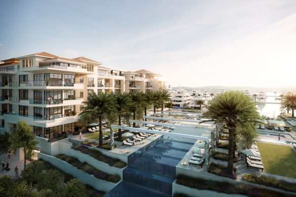 Porto Montenegro Regent Pool Club Residences