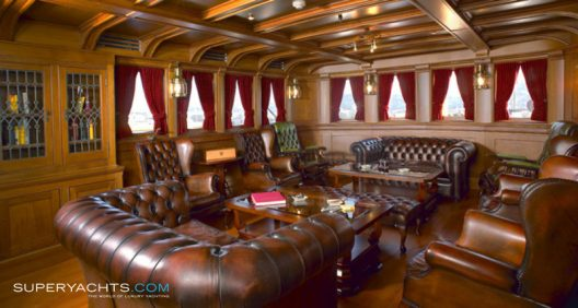 SS Delphine - 1921 Historic Steam-Powered Super Yacht  On Sale