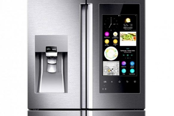 Samsung's New Touchscreen And Camera-Equipped Refrigerator
