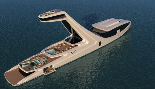 Shaddai – Gabriele Teruzzi's Superyacht With Floating Owner's Cabin 125ft Above The Water