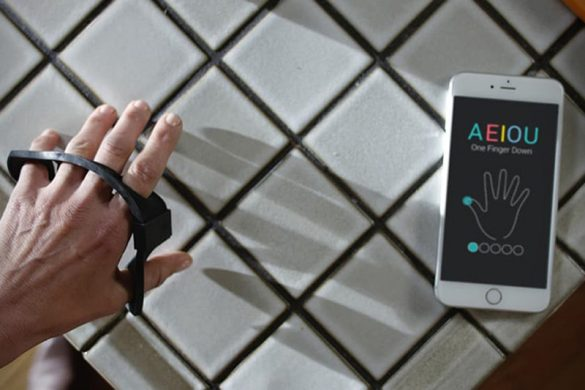 Tap Strap - Wearable Keyboard Lets You Tap To Type