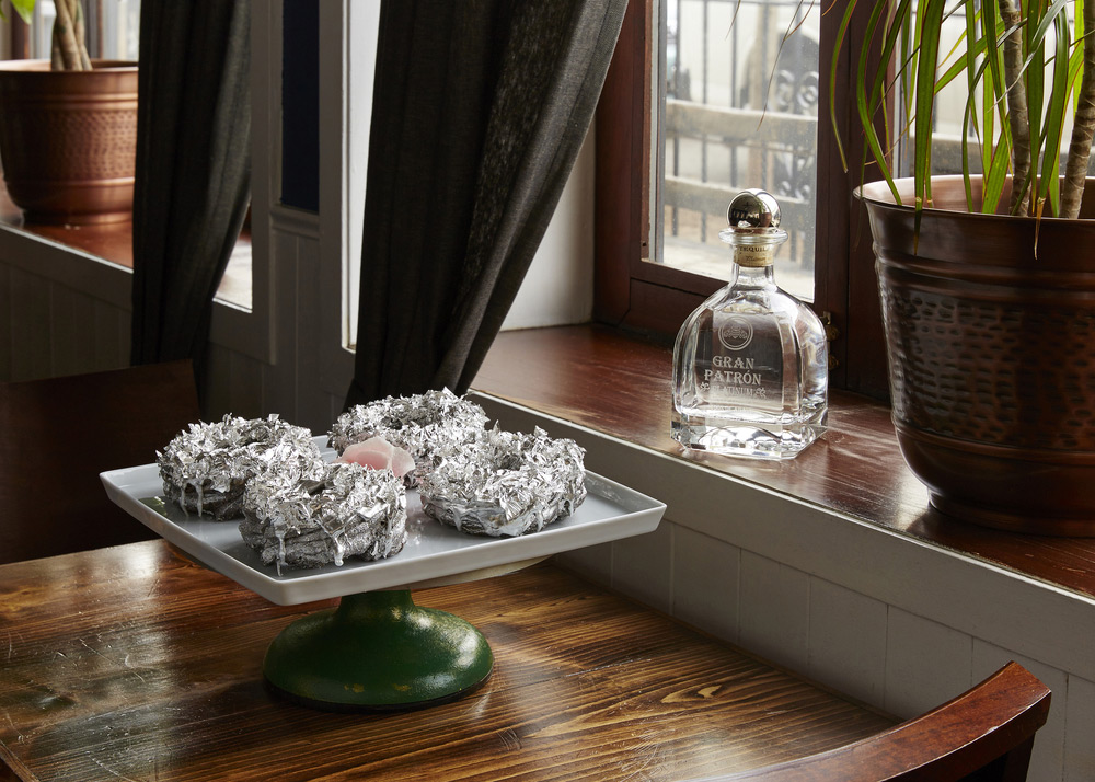 $150 Platinum-Covered Doughnut Infused With Tequila