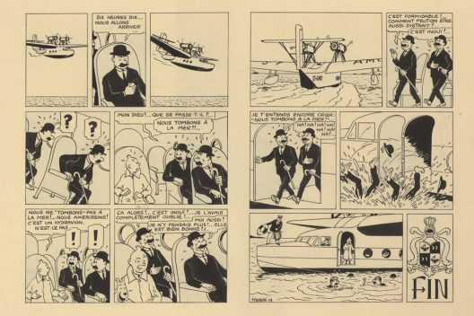 Two Pages Of Tintin King Ottokar's Sceptre Sold For $1.2 Million