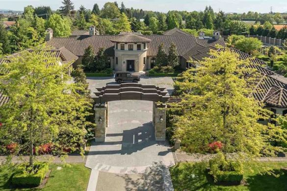 Tuscan Inspired Estate in Richmond, B.C. On Sale For $26 Million