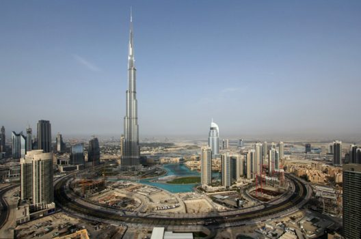 Emirates Are Building Artificial Mountain