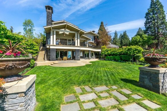 Magnificent Waterfront White Rock, B.C. Estate On Sale