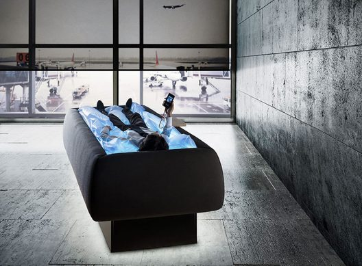 Zerobody - Dry Pool Floating Bed by Neocogita And Starpool