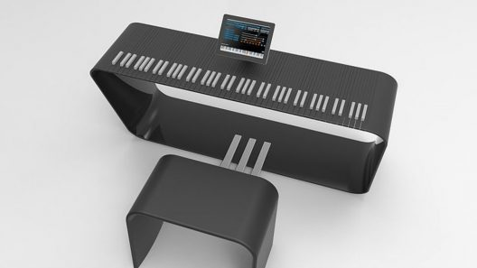 mPiano by Alpha Piano and Porsche Design