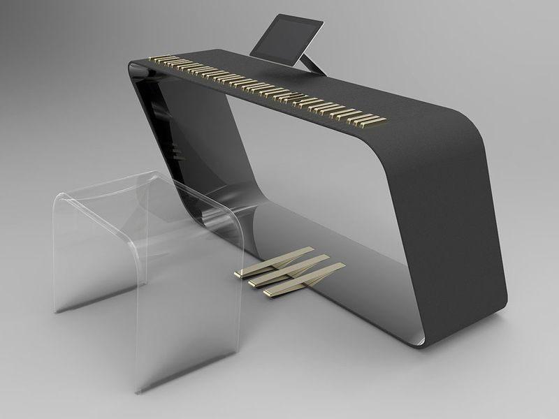 mPiano by Alpha Piano and Porsche Design