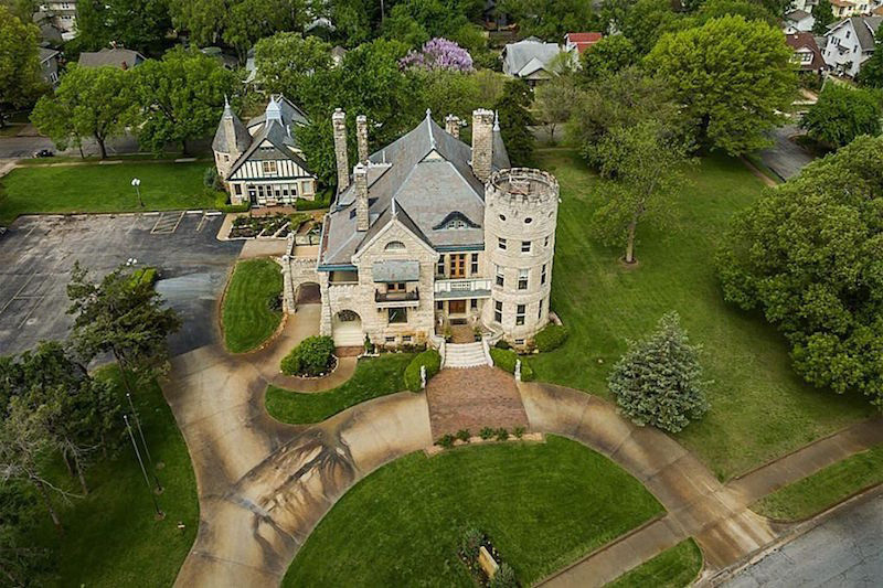 1886 Castle In Kansas On Sale For $3.5 Million