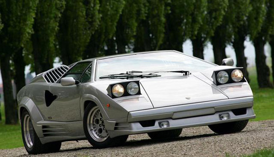 1990 Lamborghini Countach 25th Anniversary Edition