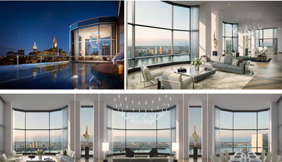 50 United Nation Plaza's Iconic $70 Million Duplex Penthouse Now Completed