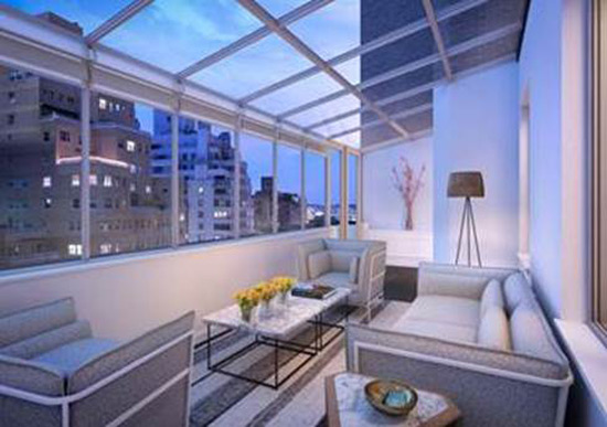 AKA Sutton Place Condo With Solarium
