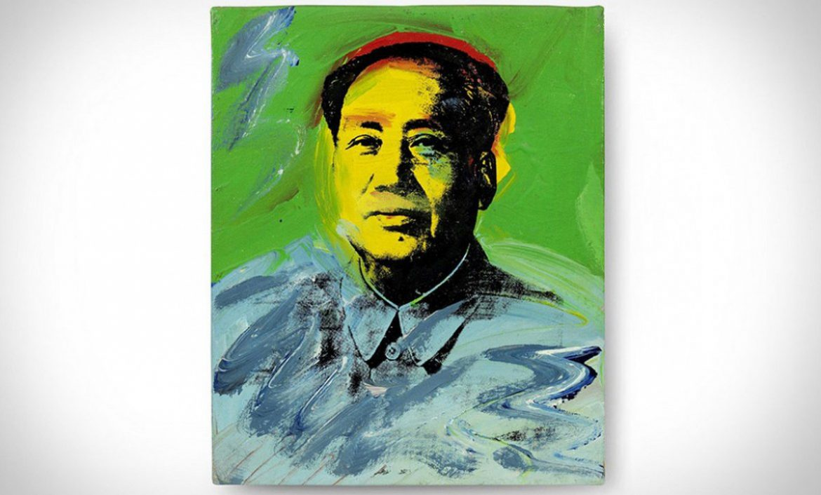 Andy Warhol's Painting Of Mao Could Fetch £780,000 At Bonhams Auction