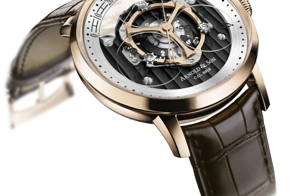 Arnold & Son's New Version Of The Golden Wheel