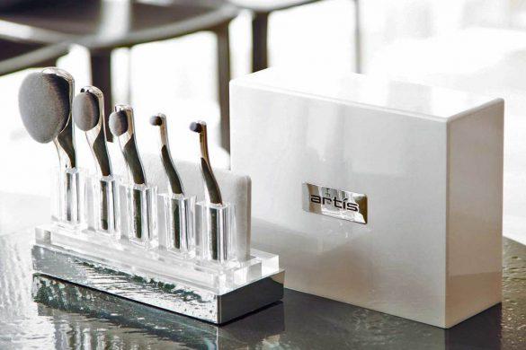 Artis' Digit Skincare 5 Brush Set In Coffret