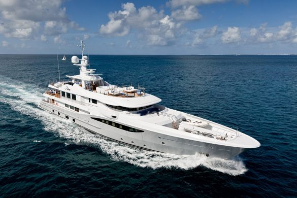 Astra - Amel's 55m Superyacht For Charter