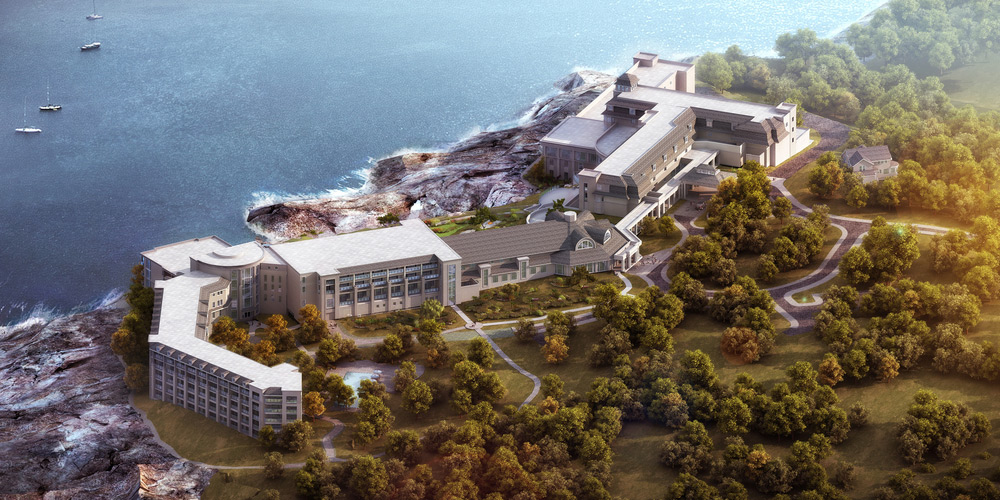 Newly Reinvented Resort – Cliff House Main