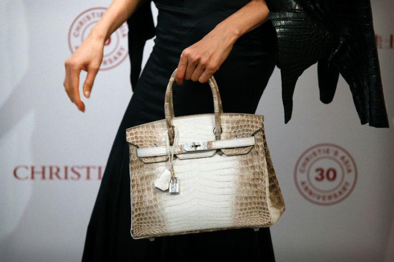Most Expensive Purse Ever Auctioned - Hermès Birkin Handbag Sold For Over $300,000
