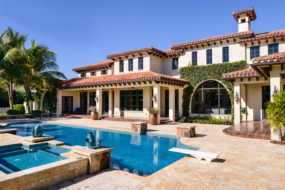 Florida Mansion Within The Bear S Club At Auction Extravaganzi