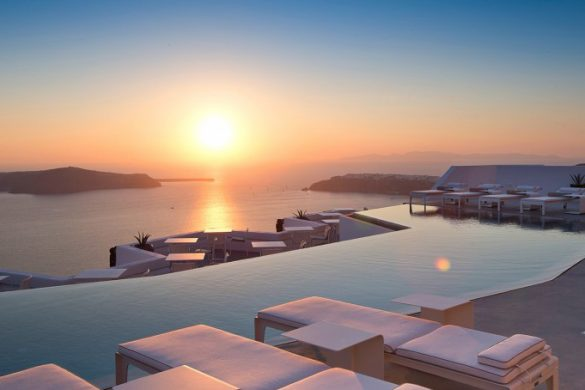 Iconic Grace Santorini Hotel Reopened