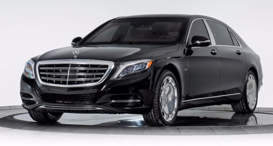 INKAS Armored Mercedes-Maybach S600