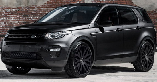 Kahn Land Rover Discovery Sport 2.0 TD4 SE Black Label Edition