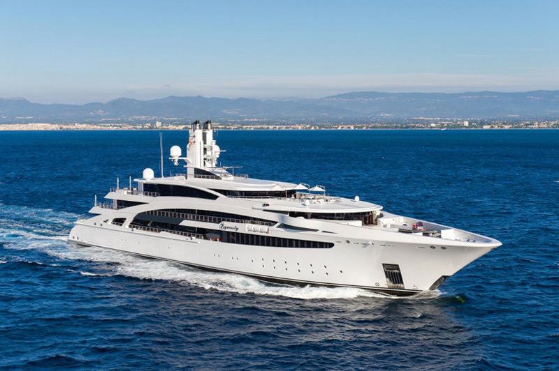 Kusch Yachts' I Dynasty Superyacht