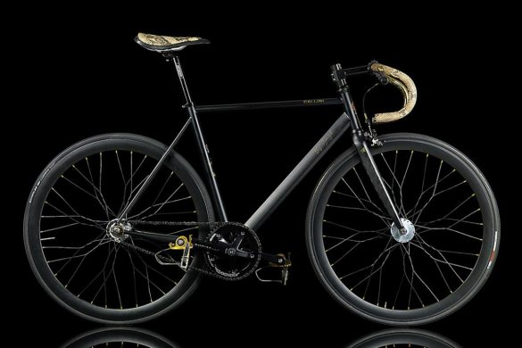 La Strana Officina's Cellini UOMO Bicycle With 24k Gold